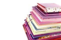 Stapel boeken van kinderen Stock Afbeeldingen