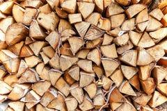 Stapel Brennholz lizenzfreie stockfotografie