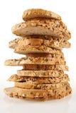Stapel Brot lizenzfreie stockfotos