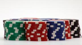 Stapel Chips Lizenzfreie Stockfotos