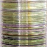 Stapel compact-discs stock fotografie