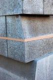 Stapel concrete blokken Stock Foto's
