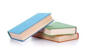 Stapel der alten Bücher lizenzfreie stockfotografie