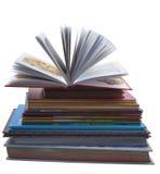 Stapel der alten Bücher lizenzfreie abbildung