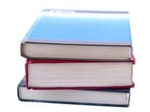 Stapel der alten Lehrbücher Lizenzfreie Stockfotos