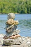 Stapel der ausgeglichenen Steine Stockfoto