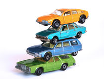 Stapel der Autos Lizenzfreies Stockbild