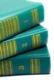 Stapel der Bücher Stockbild