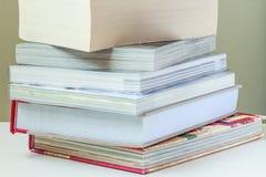 Stapel der Bücher Lizenzfreie Stockbilder