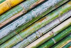 Stapel der Bambusnahaufnahme Stockfotos