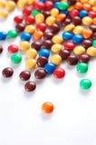Stapel der bunten Süßigkeit Lizenzfreies Stockbild