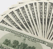 Stapel der Dollar Lizenzfreies Stockfoto