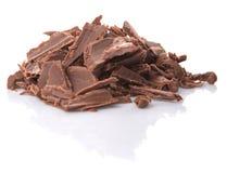 Stapel der dunkelbraunen Schokolade bessert II aus Lizenzfreies Stockfoto