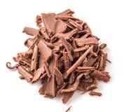Stapel der dunkelbraunen Schokolade bessert III aus Lizenzfreie Stockfotografie