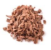 Stapel der dunkelbraunen Schokolade bessert IV aus Lizenzfreie Stockfotografie