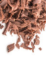 Stapel der dunkelbraunen Schokolade bessert VI aus Lizenzfreies Stockfoto
