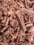 Stapel der dunkelbraunen Schokolade bessert VII aus Stockbild