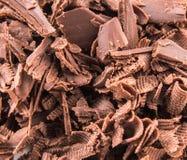 Stapel der dunkelbraunen Schokolade bessert VIII aus Lizenzfreies Stockfoto
