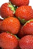 Stapel der Erdbeeren Stockfotos