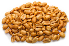 Stapel der Erdnüsse Stockfoto