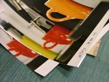 Stapel der Fotos Lizenzfreies Stockbild