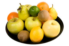 Stapel der Frucht Stockfotos