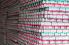 Stapel der Gummimatte, tatami Lizenzfreies Stockbild