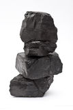 Stapel der Kohle lizenzfreies stockfoto