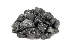 Stapel der Kohle stockfotos