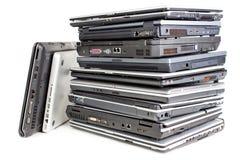 Stapel der Laptope Lizenzfreies Stockbild