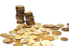 Stapel der Münzen Lizenzfreies Stockfoto