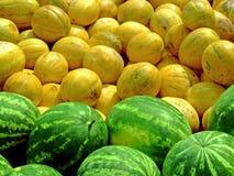 Stapel der Melonen Lizenzfreies Stockbild