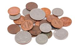 Stapel der Münze Lizenzfreies Stockfoto