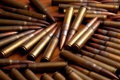 Stapel der Munition Stockfotografie