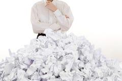 Stapel der Papiere Lizenzfreies Stockfoto