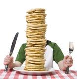 Stapel der Pfannkuchen Lizenzfreies Stockfoto