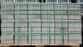 Stapel der Pflasterungsteine Stockbild