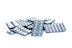 Stapel der Pillen Lizenzfreies Stockbild