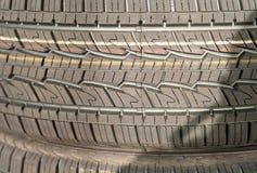Stapel der Reifen Stockbilder