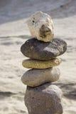 Stapel der Steine lizenzfreie stockbilder
