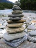 Stapel der Steine Lizenzfreies Stockfoto