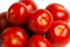 Stapel der Tomaten Stockbild