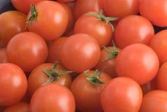 Stapel der Tomaten Stockfotos