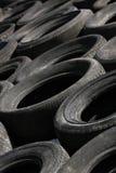 Stapel der verworfenen Reifen (2) Stockfotografie