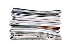 Stapel der Zeitschriften lizenzfreie stockfotografie