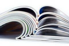 Stapel der Zeitschriften Lizenzfreies Stockfoto