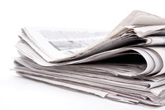 Stapel der Zeitung Lizenzfreies Stockfoto