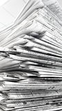 Stapel der Zeitung Stockfotos