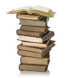 Stapel des alten Buches Stockfotos