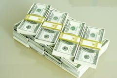 Stapel des Bargeldes Lizenzfreies Stockfoto